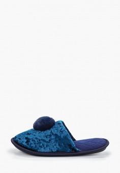 Тапочки, Modis, цвет: синий. Артикул: MO044AWERJN2. Обувь / Домашняя обувь