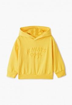Худи, Modis, цвет: желтый. Артикул: MO044EBEFUA5.