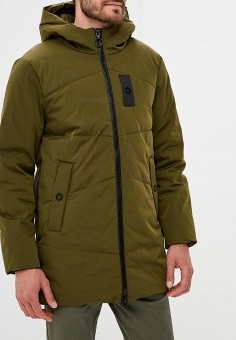 Куртка утепленная, Modis, цвет: хаки. Артикул: MO044EMCRDA2.
