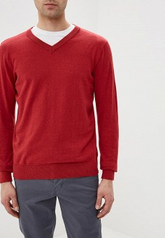 Пуловер, Modis, цвет: красный. Артикул: MO044EMDVLV7.