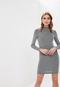 Платье, Modis, цвет: серебряный. Артикул: MO044EWDOAP4.