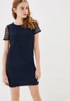Платье, Modis, цвет: синий. Артикул: MO044EWERKQ5. Одежда / Платья и сарафаны / Вечерние платья