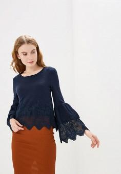 Блуза, Modis, цвет: синий. Артикул: MO044EWERKS7.