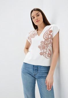 Блуза, Modis, цвет: белый. Артикул: MO044EWEVBQ2.