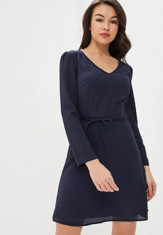 Платье, Modis, цвет: синий. Артикул: MO044EWEXBW7.