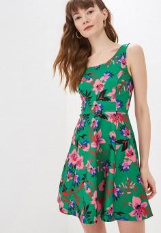 Платье, Modis, цвет: зеленый. Артикул: MO044EWEZBJ1.