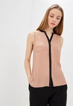 Блуза, Modis, цвет: коричневый. Артикул: MO044EWFAQM8.