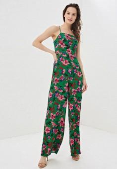 Комбинезон, Modis, цвет: зеленый. Артикул: MO044EWFAQO7. Одежда / Комбинезоны
