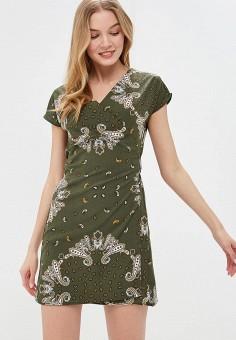 Платье, Modis, цвет: зеленый. Артикул: MO044EWFATR9.