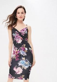 Платье, Modis, цвет: черный. Артикул: MO044EWFBOA2.