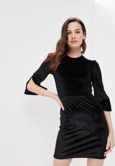 Платье, Modis, цвет: черный. Артикул: MO044EWFBOA4.