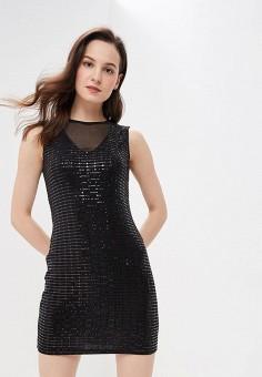 Платье, Modis, цвет: черный. Артикул: MO044EWFBOA8.