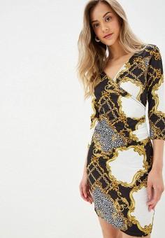 Платье, Modis, цвет: мультиколор. Артикул: MO044EWFFXF1.