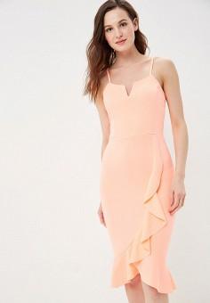 Платье, Modis, цвет: розовый. Артикул: MO044EWFFXF3.