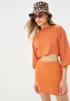 Блуза, Modis, цвет: оранжевый. Артикул: MO044EWFFXH1.