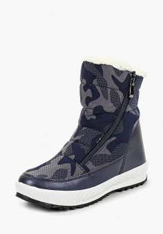Дутики, Mon Ami, цвет: синий. Артикул: MO151AWDKBR7. Обувь / Сапоги / Дутики