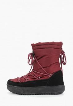 Дутики, Mon Ami, цвет: бордовый. Артикул: MO151AWDXYB2. Обувь / Сапоги / Дутики