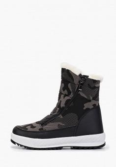 Дутики, Mon Ami, цвет: черный. Артикул: MO151AWGVBM3. Обувь / Сапоги / Дутики