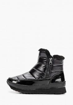 Дутики, Mon Ami, цвет: черный. Артикул: MO151AWHRTD4. Обувь / Сапоги
