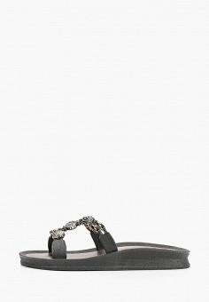 Сланцы, Mon Ami, цвет: черный. Артикул: MO151AWIRUZ8. Обувь / Резиновая обувь