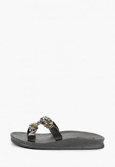 Сланцы, Mon Ami, цвет: черный. Артикул: MO151AWIRVA5. Обувь / Резиновая обувь
