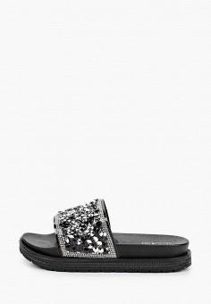 Сланцы, Mon Ami, цвет: черный. Артикул: MO151AWJKJE6. Обувь / Резиновая обувь