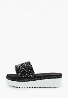 Сланцы, Mon Ami, цвет: черный. Артикул: MO151AWJKJE8. Обувь / Резиновая обувь