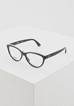 Оправа, Moschino, цвет: черный. Артикул: MO351DWERGY1. Аксессуары / Очки