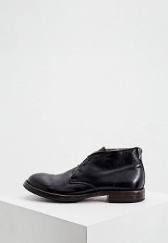 Ботинки, Moma, цвет: черный. Артикул: MO714AMJVAV9. Обувь / Ботинки / Низкие ботинки