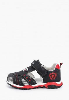 Сандалии, Biker, цвет: черный. Артикул: MP002XB00J0K.