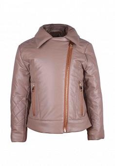Куртка утепленная, Irby Style, цвет: бежевый. Артикул: MP002XG0012P. Девочкам / Одежда / Верхняя одежда / Куртки и пуховики