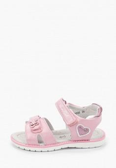 Сандалии, Honey Girl, цвет: розовый. Артикул: MP002XG00UQN.