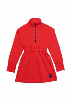Платье, Dnk, цвет: красный. Артикул: MP002XG019NN. Девочкам / Одежда / Платья и сарафаны