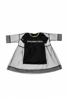 Платье, Dnk, цвет: черный. Артикул: MP002XG019NQ. Девочкам / Одежда / Платья и сарафаны