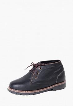 Ботинки, LioKaz, цвет: черный. Артикул: MP002XM0YDWD. Обувь / Ботинки / Высокие ботинки