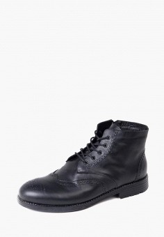 Ботинки, LioKaz, цвет: черный. Артикул: MP002XM0YDWH. Обувь / Ботинки / Высокие ботинки