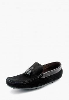 Мокасины, LioKaz, цвет: черный. Артикул: MP002XM0YGQN. Обувь / Мокасины и топсайдеры