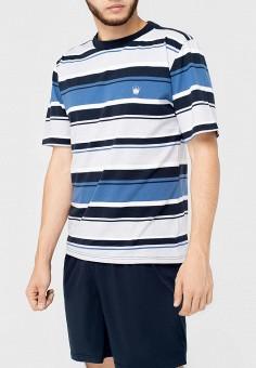 Пижама, Kayser, цвет: белый, синий. Артикул: MP002XM12C8G. Одежда / Домашняя одежда