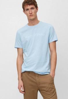 Футболка, Marc O'Polo, цвет: голубой. Артикул: MP002XM1KBPM. Одежда / Футболки и поло