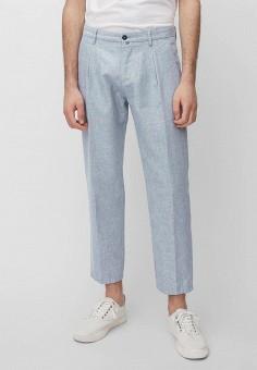 Брюки, Marc O'Polo, цвет: голубой. Артикул: MP002XM22K87. Одежда / Брюки / Повседневные брюки