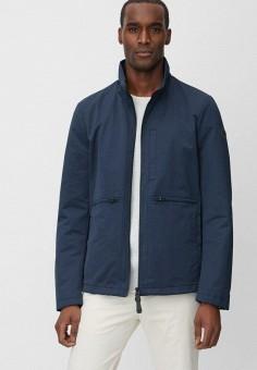 Куртка, Marc O'Polo, цвет: синий. Артикул: MP002XM24Z11. Одежда / Верхняя одежда / Легкие куртки и ветровки