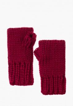 Митенки, Anna Bask, цвет: бордовый. Артикул: MP002XW0DQFE. Аксессуары / Перчатки и варежки