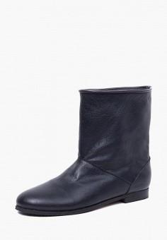 Полусапоги, LioKaz, цвет: черный. Артикул: MP002XW0F5X9. Обувь / Сапоги / Полусапоги
