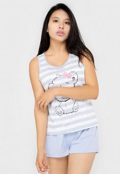 Пижама, Kayser, цвет: белый, голубой. Артикул: MP002XW0HI6A. Одежда / Домашняя одежда / Пижамы