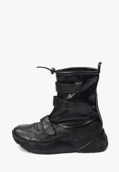 Ботинки, Hotic, цвет: черный. Артикул: MP002XW0HNJD. Обувь / Ботинки / Высокие ботинки