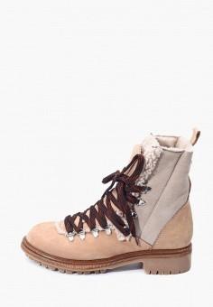 Ботинки, Hotic, цвет: бежевый. Артикул: MP002XW0HQBJ. Обувь / Ботинки / Высокие ботинки