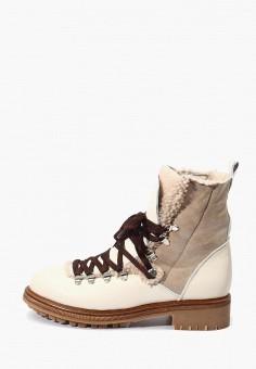 Ботинки, Hotic, цвет: бежевый. Артикул: MP002XW0HQBK. Обувь / Ботинки / Высокие ботинки