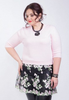 Джемпер, Wisell, цвет: розовый. Артикул: MP002XW0IYC1. Одежда / Джемперы, свитеры и кардиганы / Джемперы и пуловеры / Джемперы