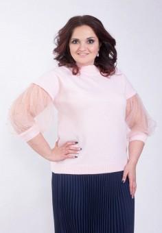 Джемпер, Wisell, цвет: розовый. Артикул: MP002XW0IYC2. Одежда / Джемперы, свитеры и кардиганы / Джемперы и пуловеры / Джемперы