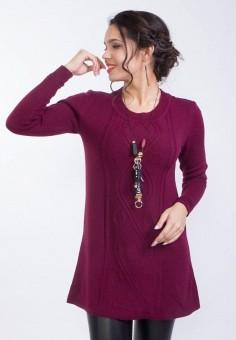Туника, Wisell, цвет: бордовый. Артикул: MP002XW0IYCX. Одежда / Туники